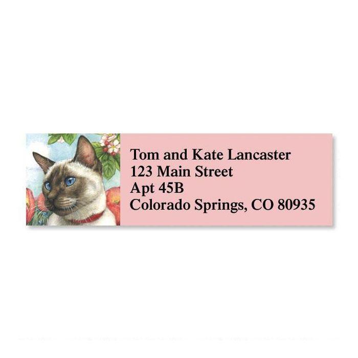 Feline Artistry  Classic Address Labels  (6 designs)