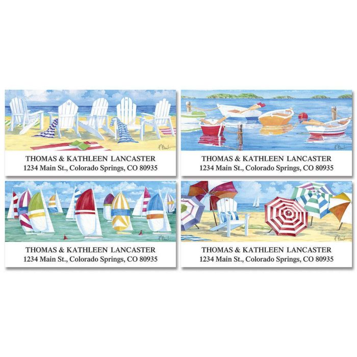 Water' s Edge  Deluxe Address Labels  (4 designs)
