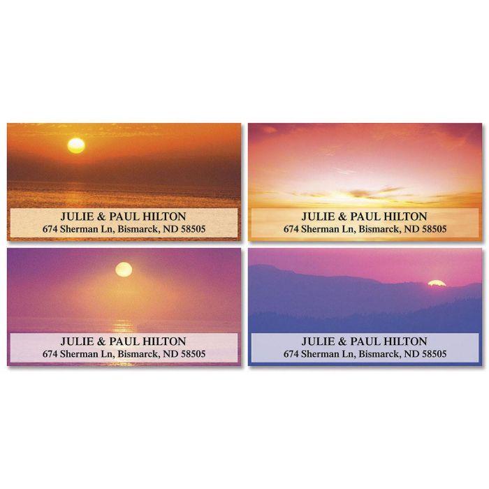 Sunset Splendor Deluxe Address Labels  (4 designs)