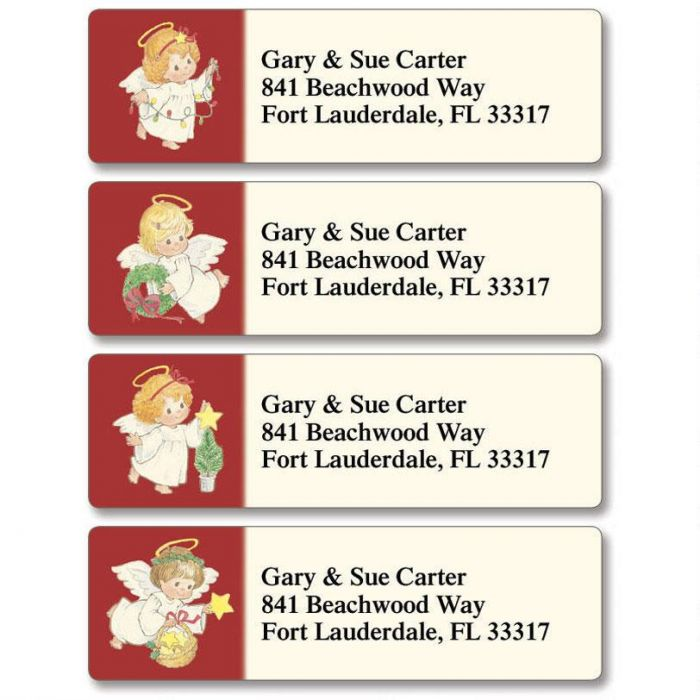 Baby Angels Classic Address Labels  (4 designs)