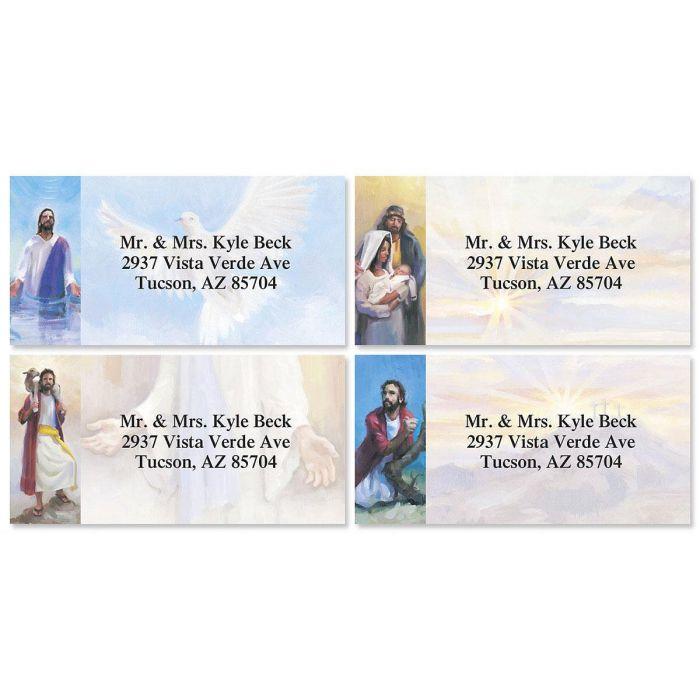 Hand of God Border Address Labels  (4 Designs)
