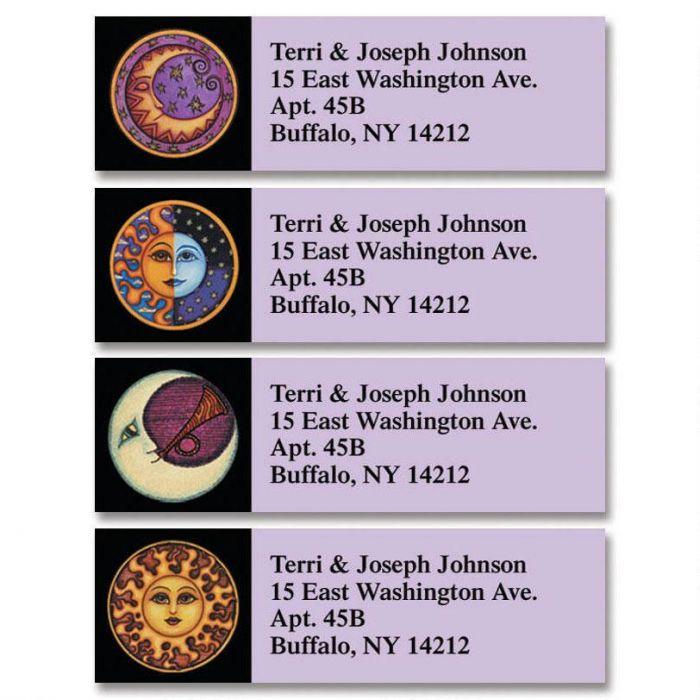 Sun & Moon Classic Address Labels  (4 designs)