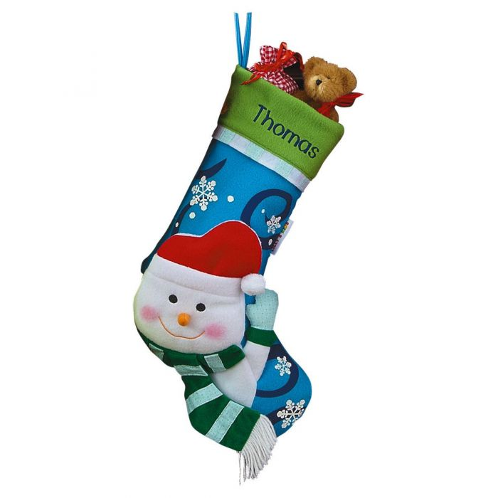 Personalized 3D Christmas Stockings