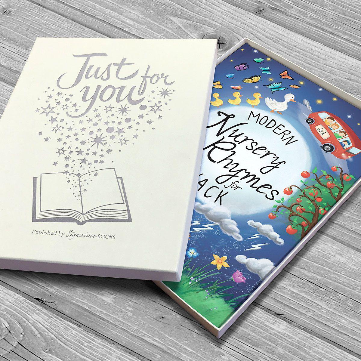 Modern Nursery Rhymes Personalized Storybook