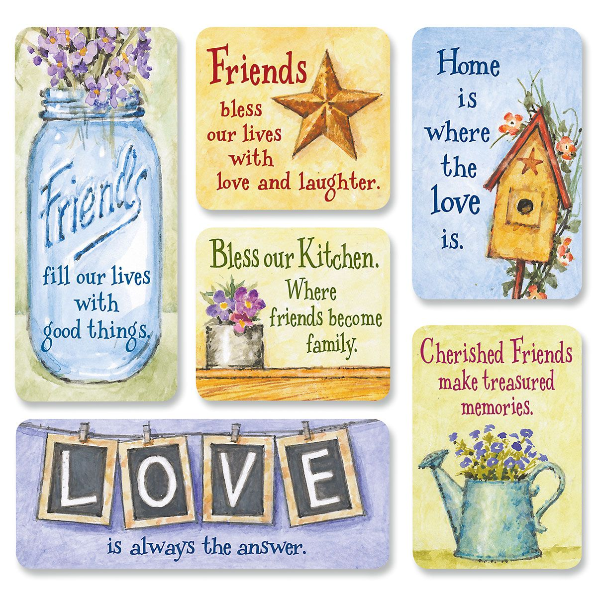 Country Friend Magnets