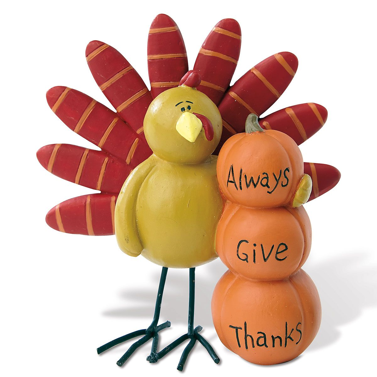 Always Give Thanks Figurine