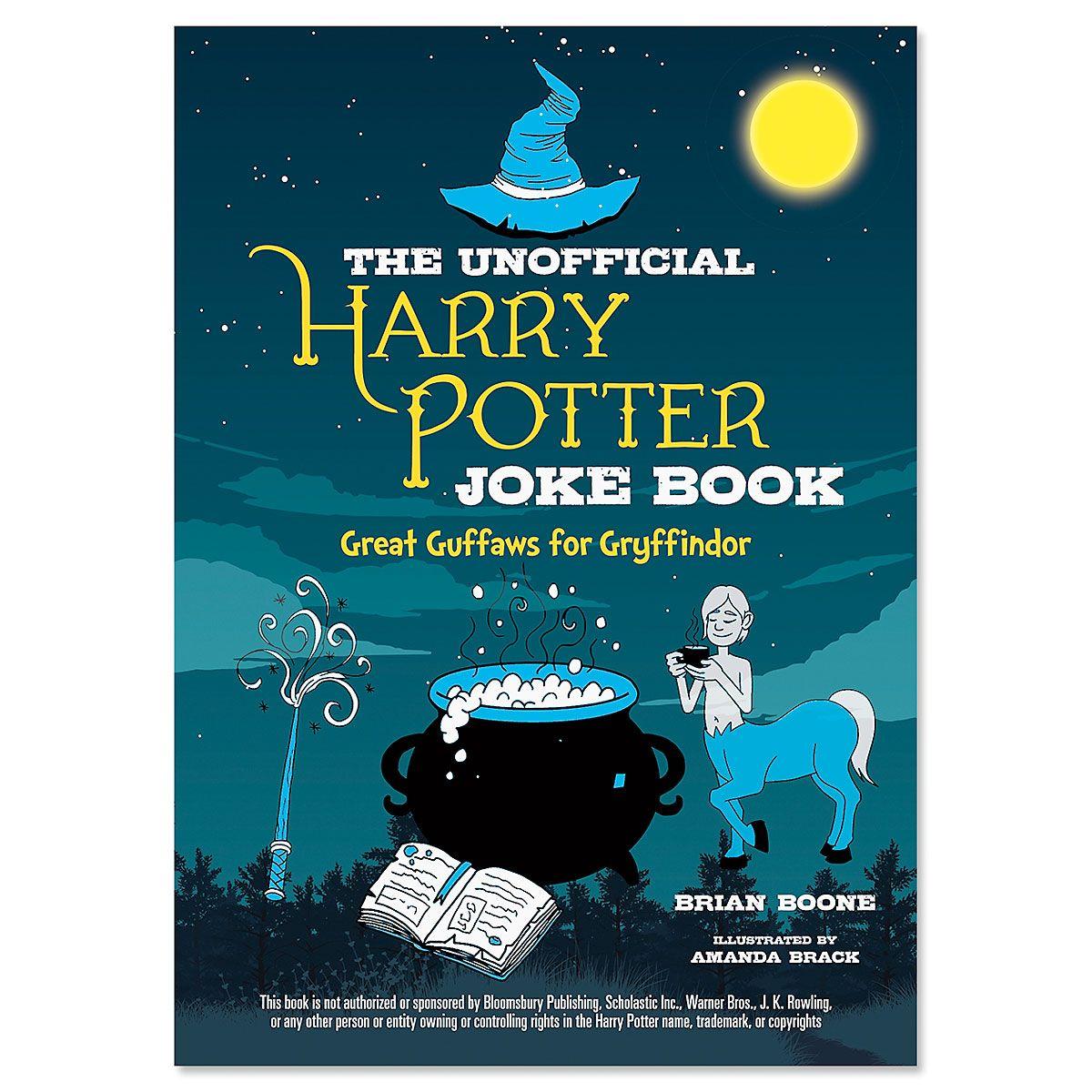 Gryffindor Harry Potter Joke Book