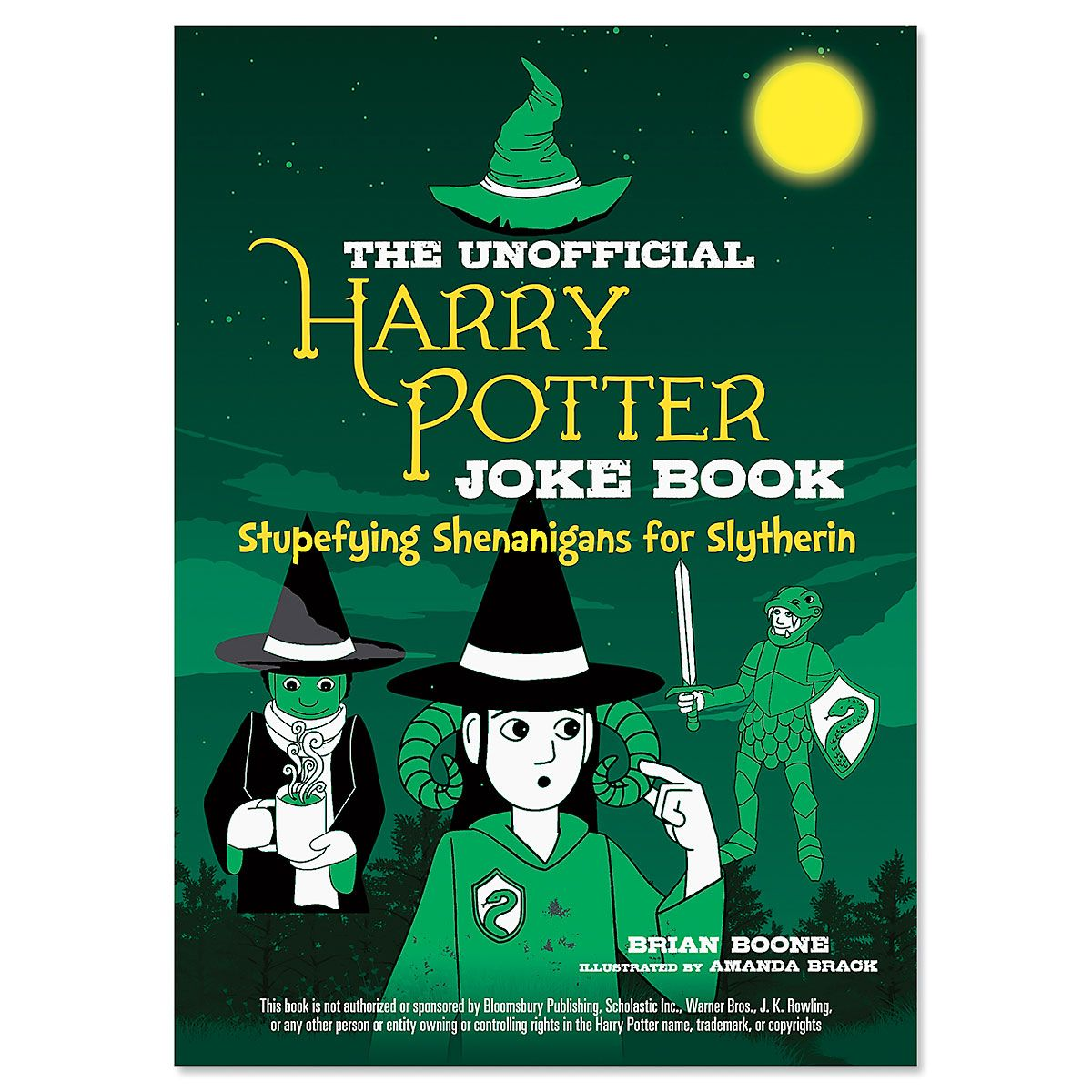 Slytherin Harry Potter Joke Book