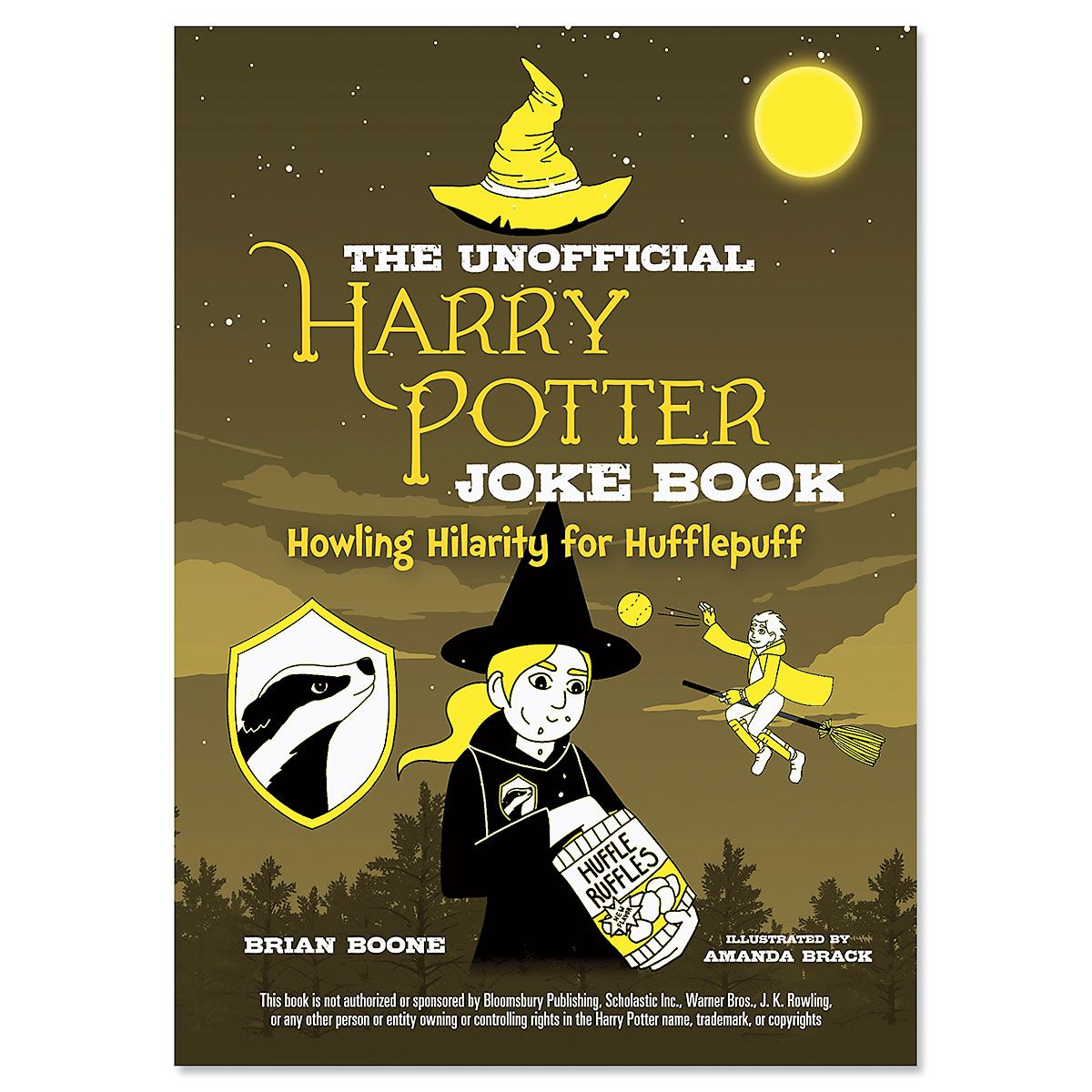 Hufflepuff Harry Potter Joke Book