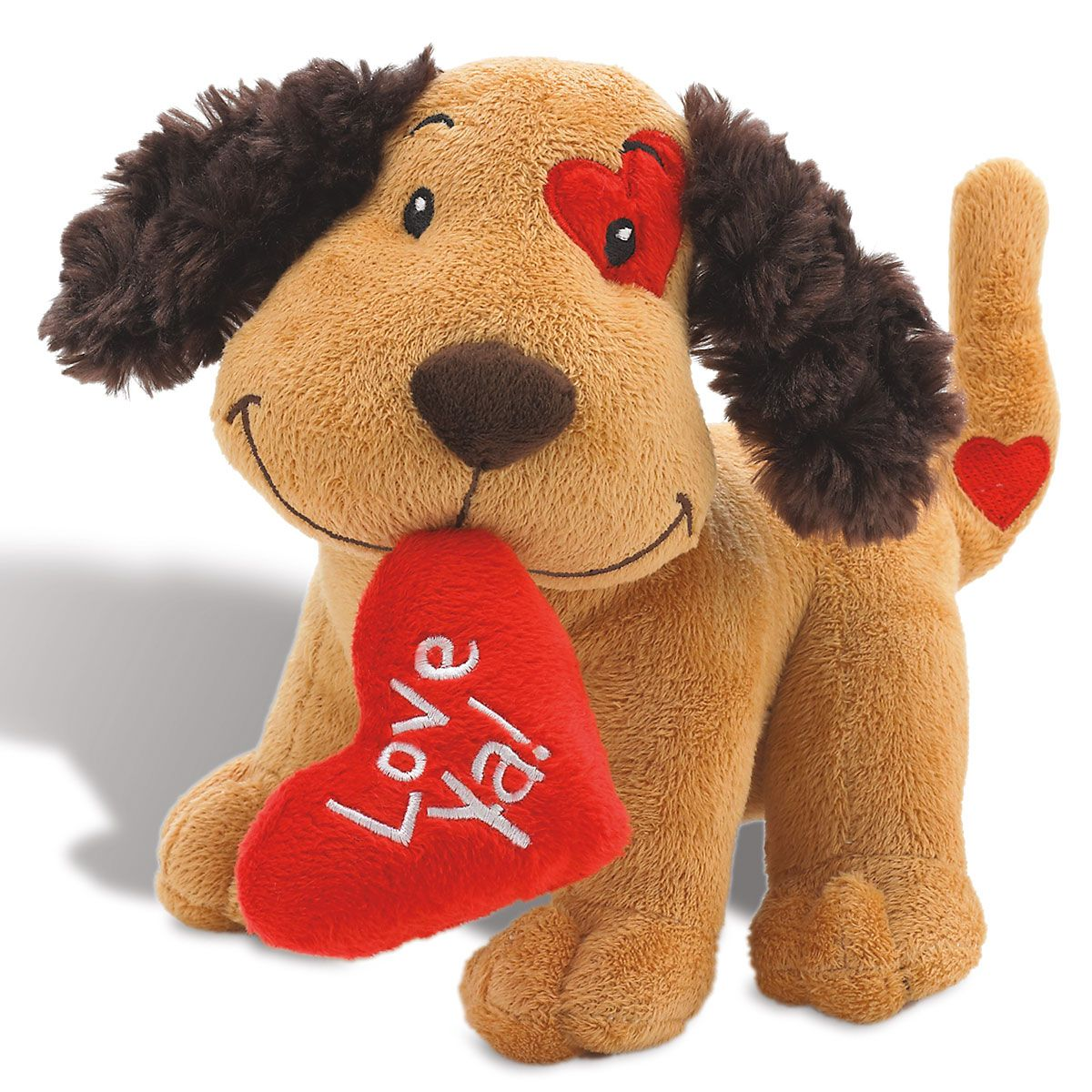 Plush Valentine Puppy