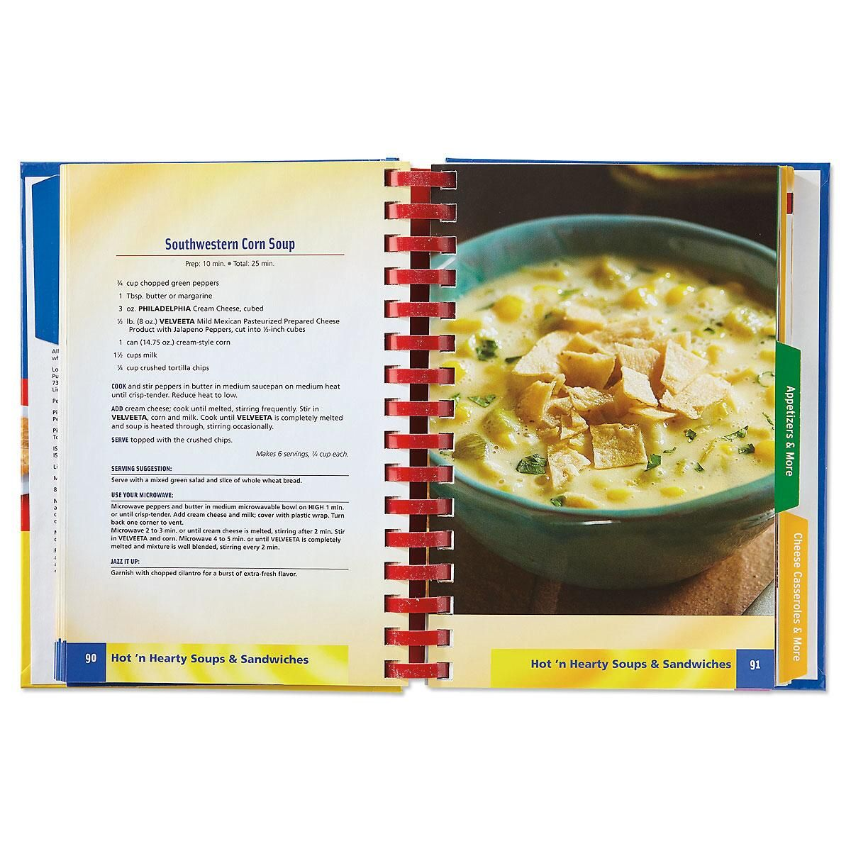 3-in-1 Kraft, Nabisco, & Velveeta Cookbook