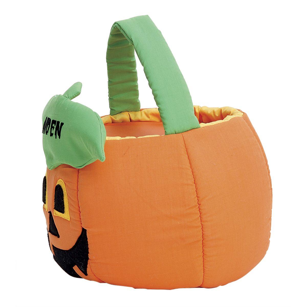 Jack-o'-Lantern Personalized Halloween Treat Basket