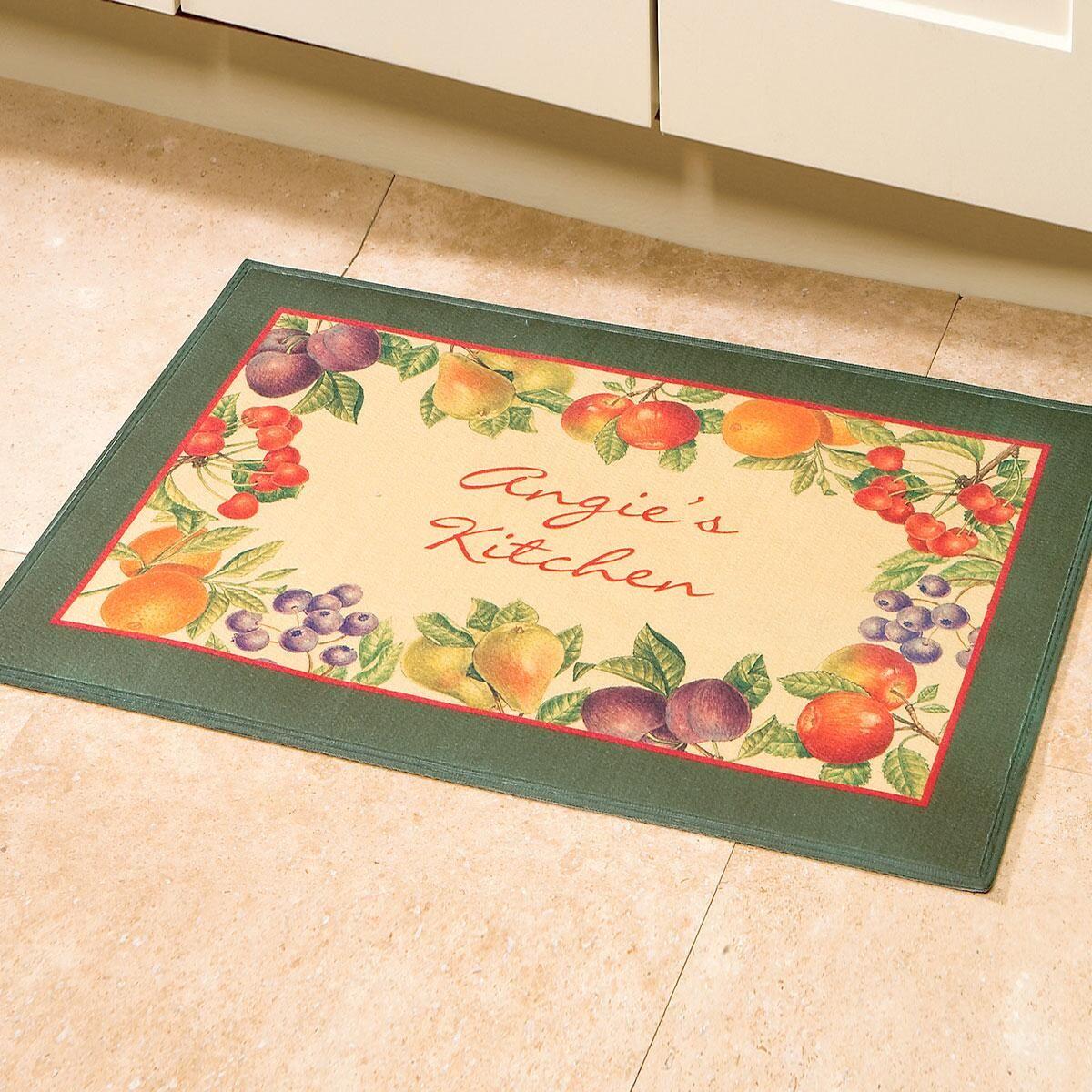 European Fruits Kitchen Mat