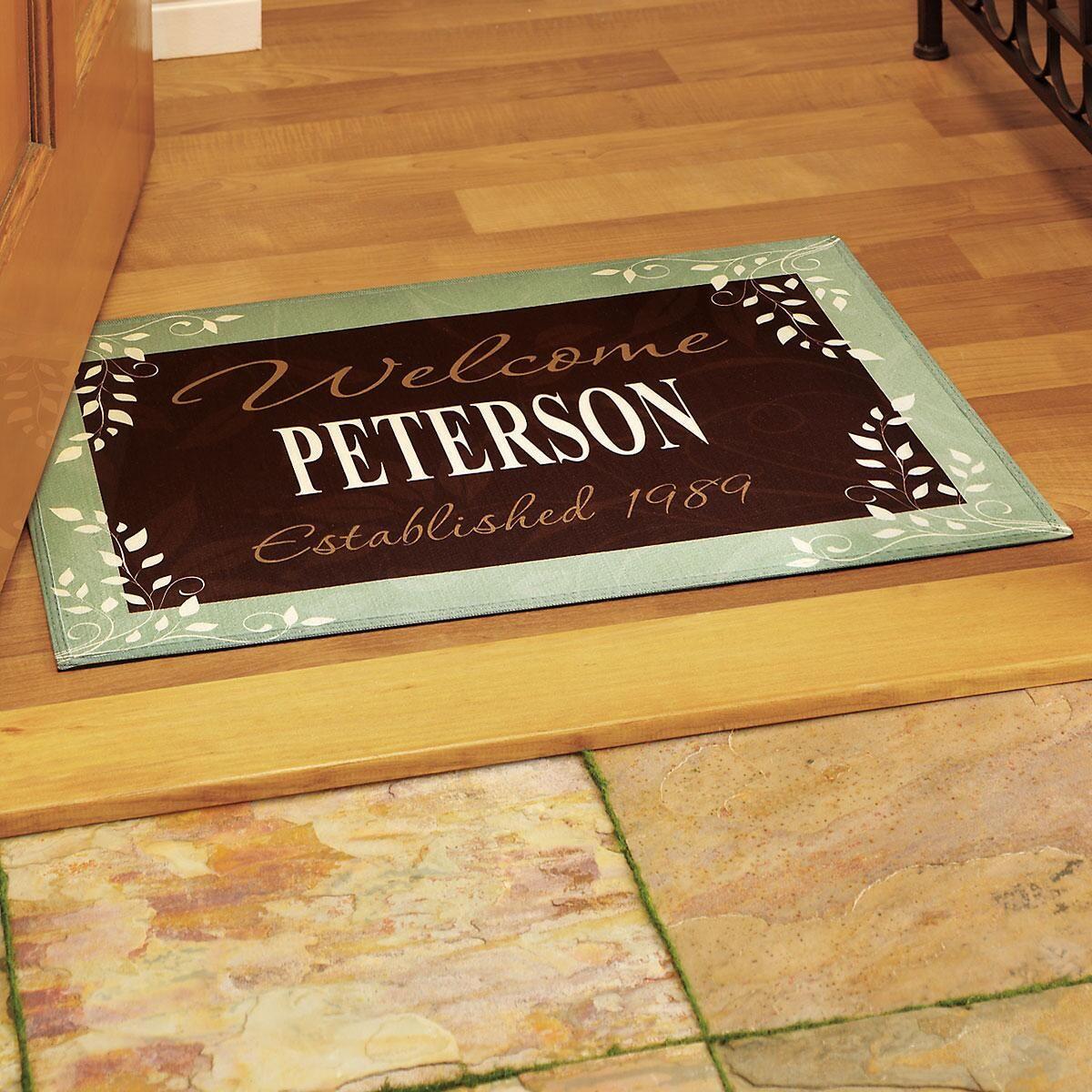 Established in... Floor Mat