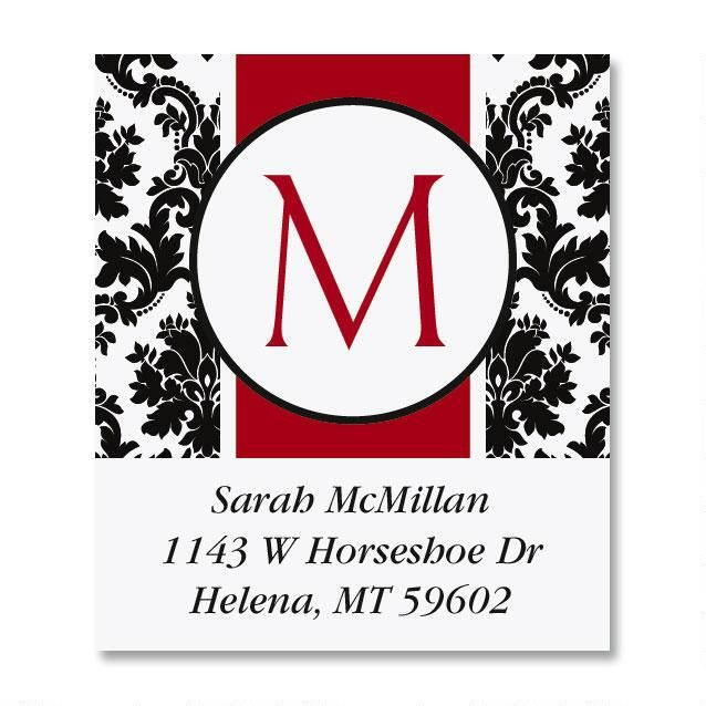 Alexandria Select Address Labels
