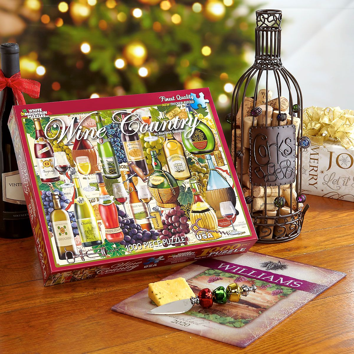 Tuscany Wine Tempered Glass Cutting Board