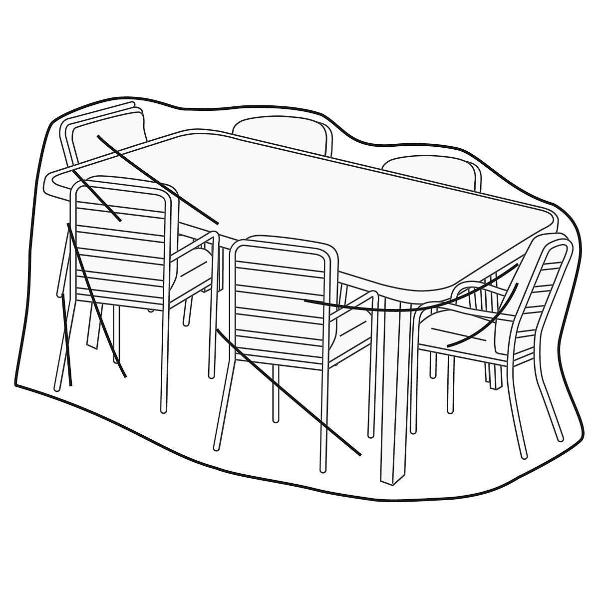 Rectangular Table & Chair