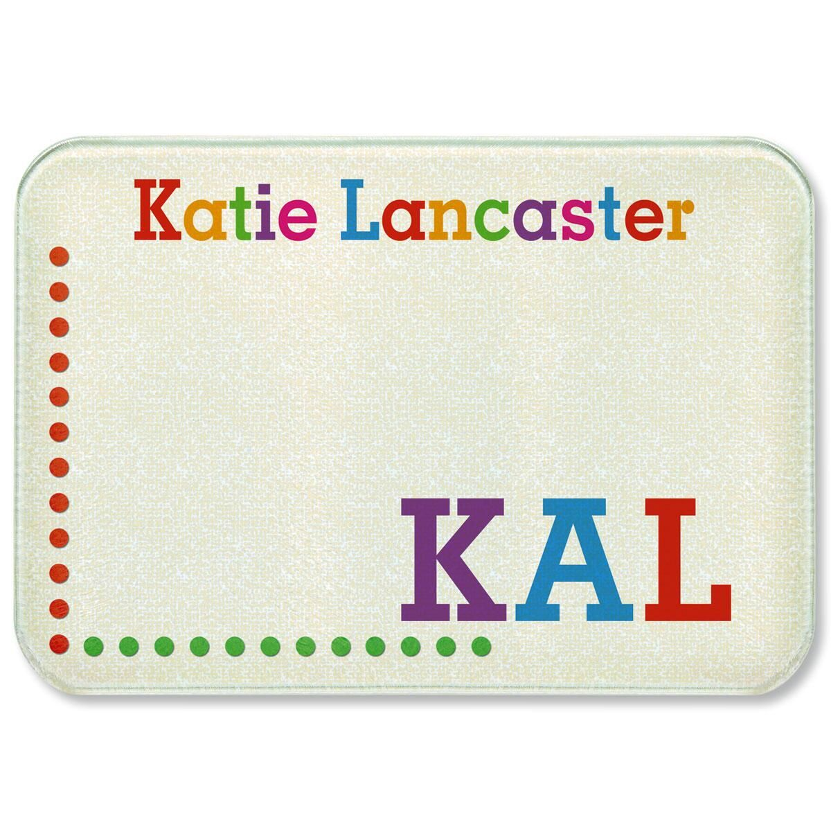 Whimsical Name Cutting Board