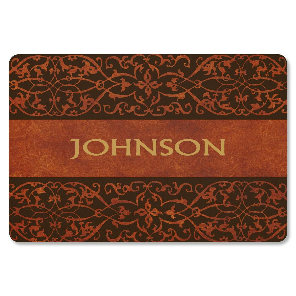 Welcome Personalized Doormat