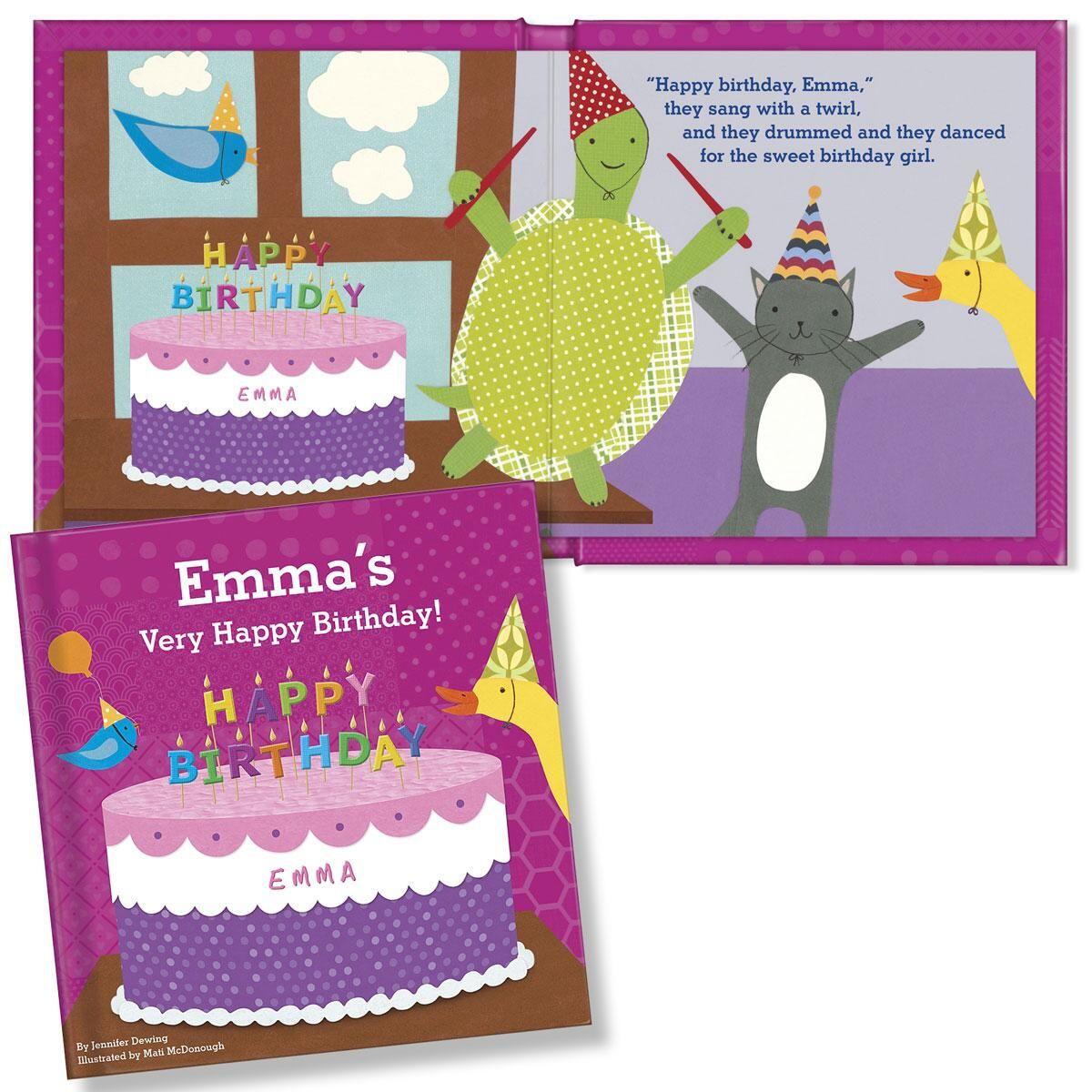My Very Happy Birthday Storybook-Girl-812331