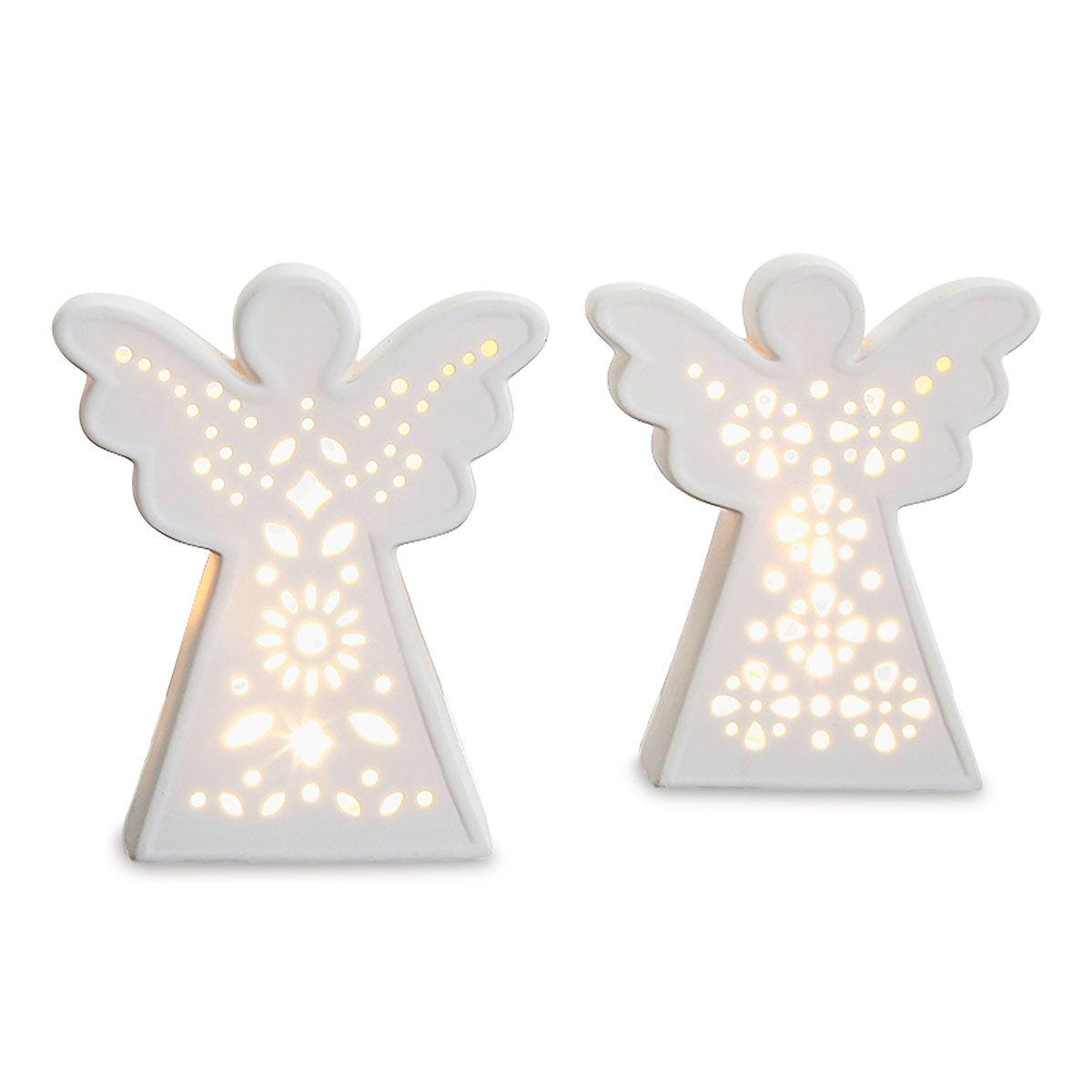 LED Angel Figurine