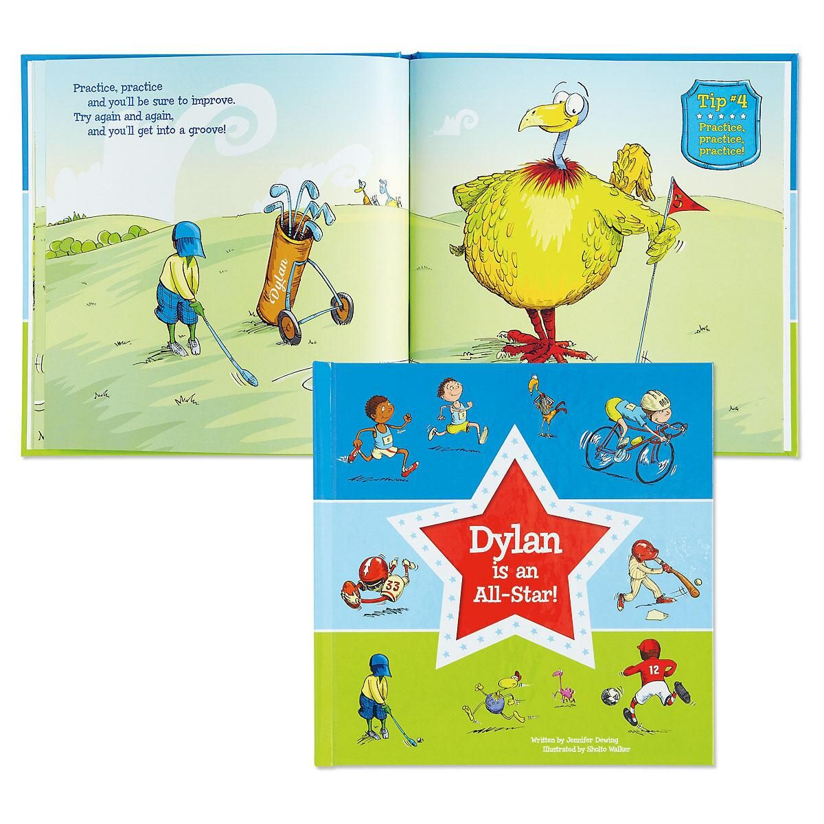 Personalized All Star Storybook