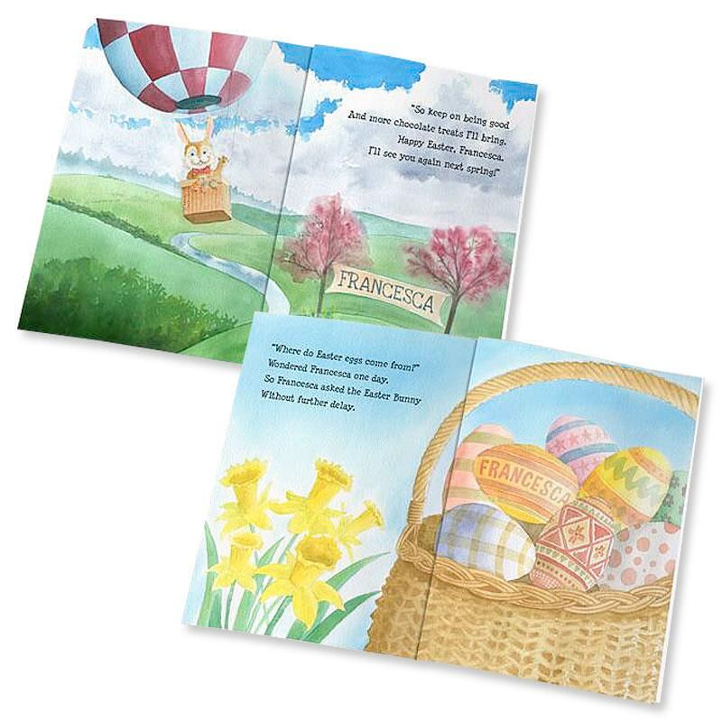Personalized The Easter Bunny Storybook