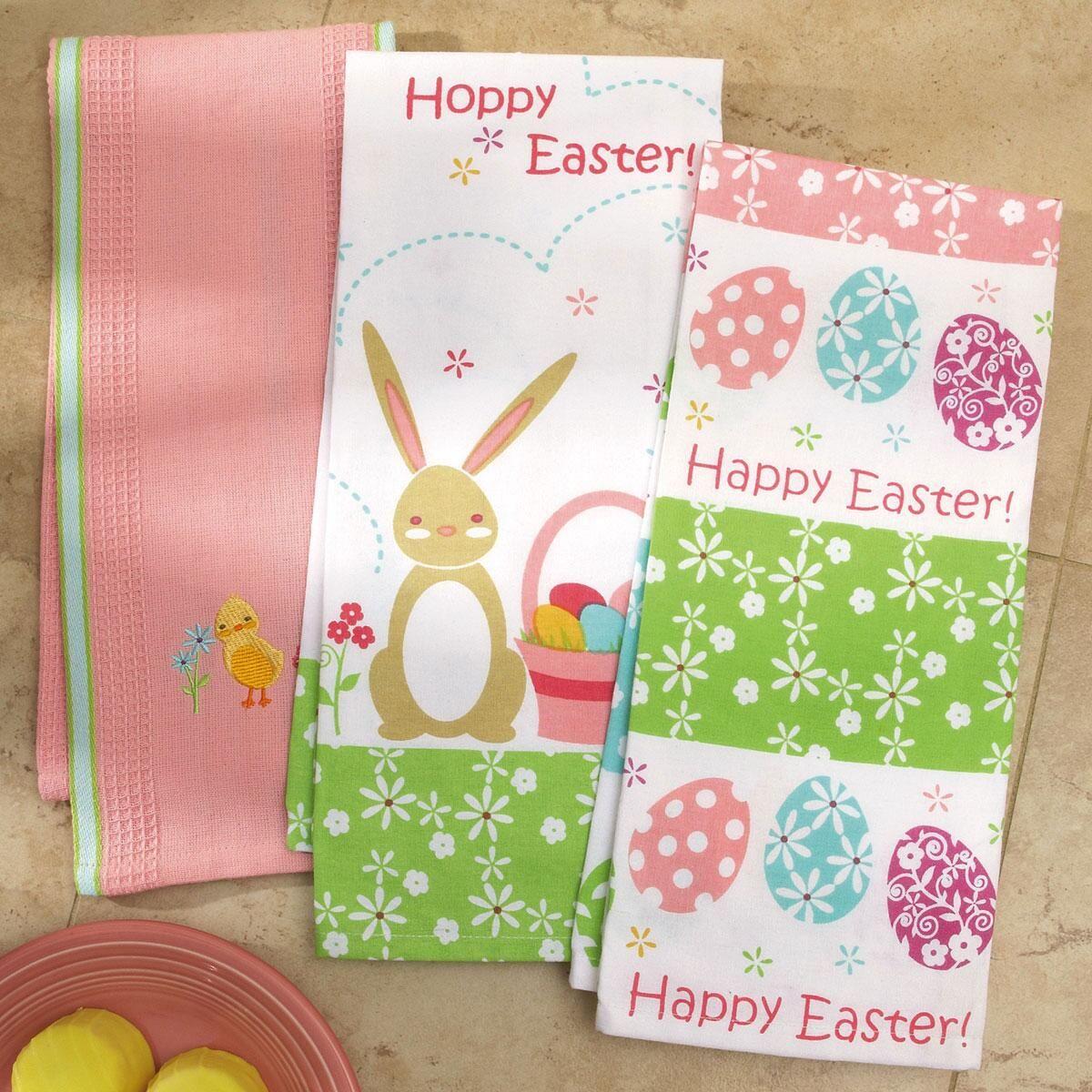 Easter Kitchen Towels