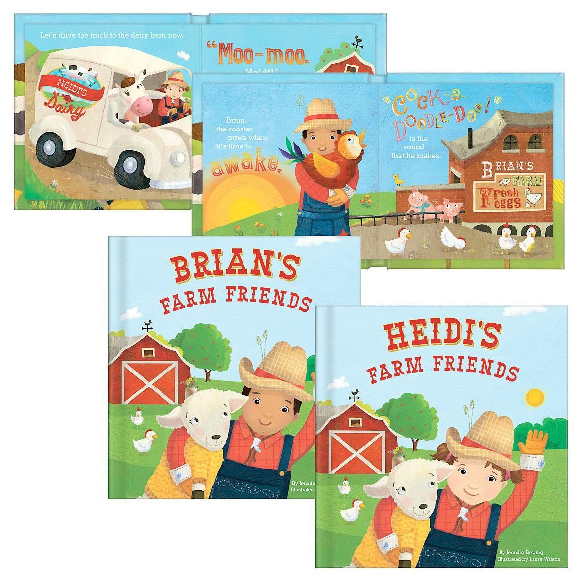 Personalized My Farm Friends Storybook