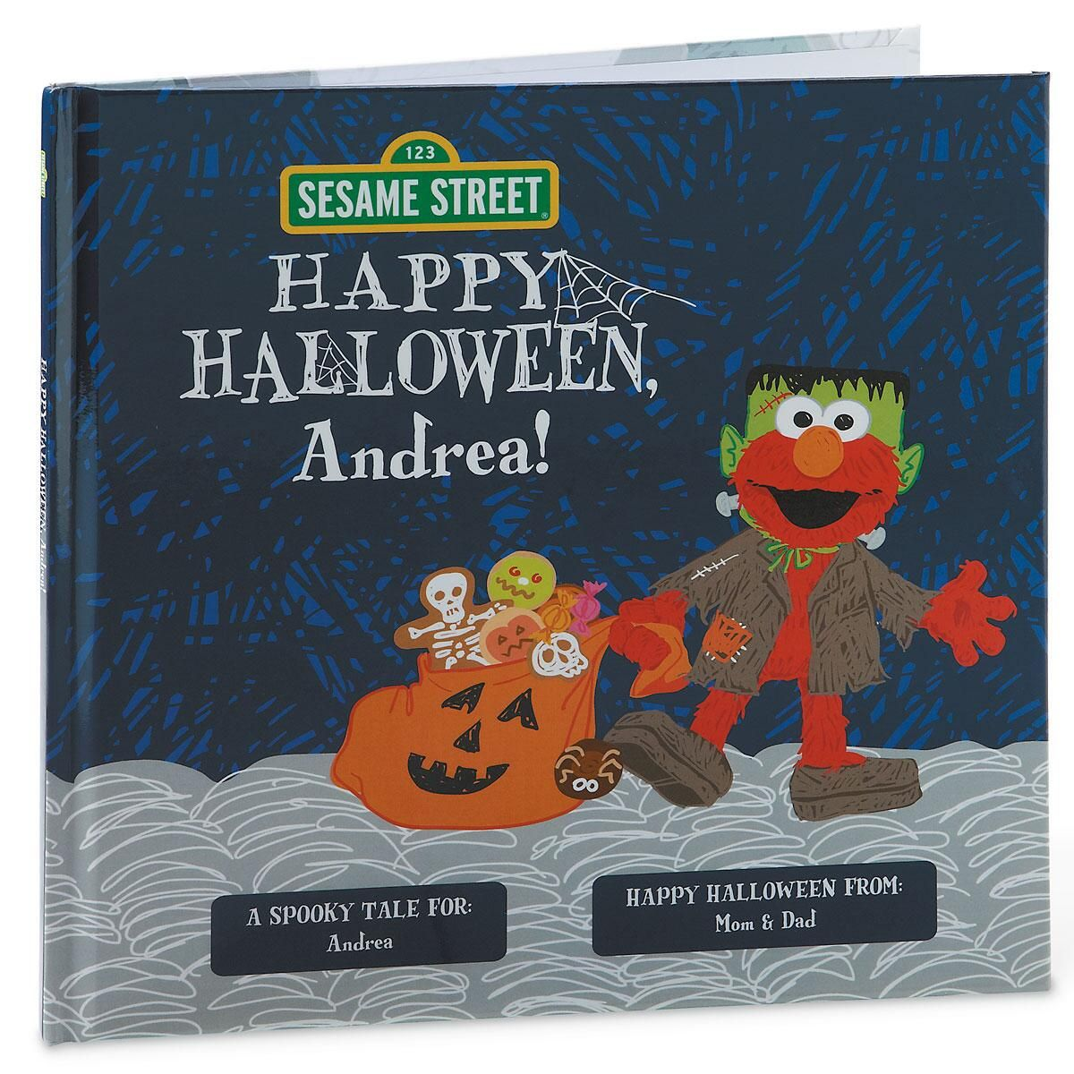 Happy Halloween! Sesame Street Scribbles Elmo by Lillian Vernon