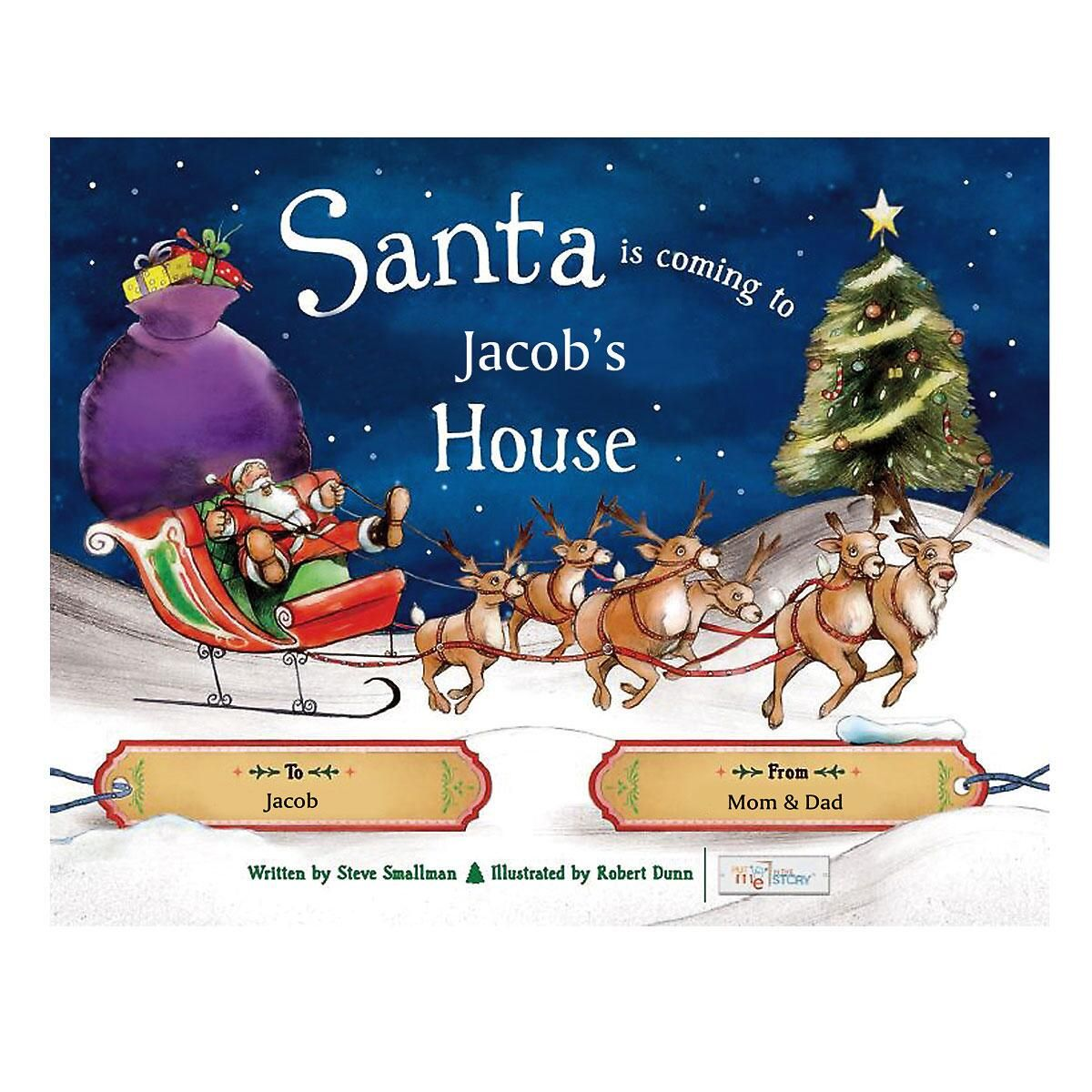 Santa is Coming To My House Storybook