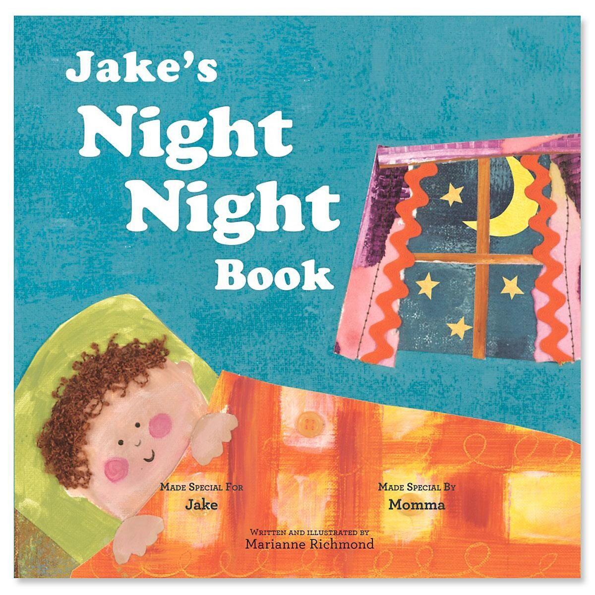 My Night Night Personalized Story Book