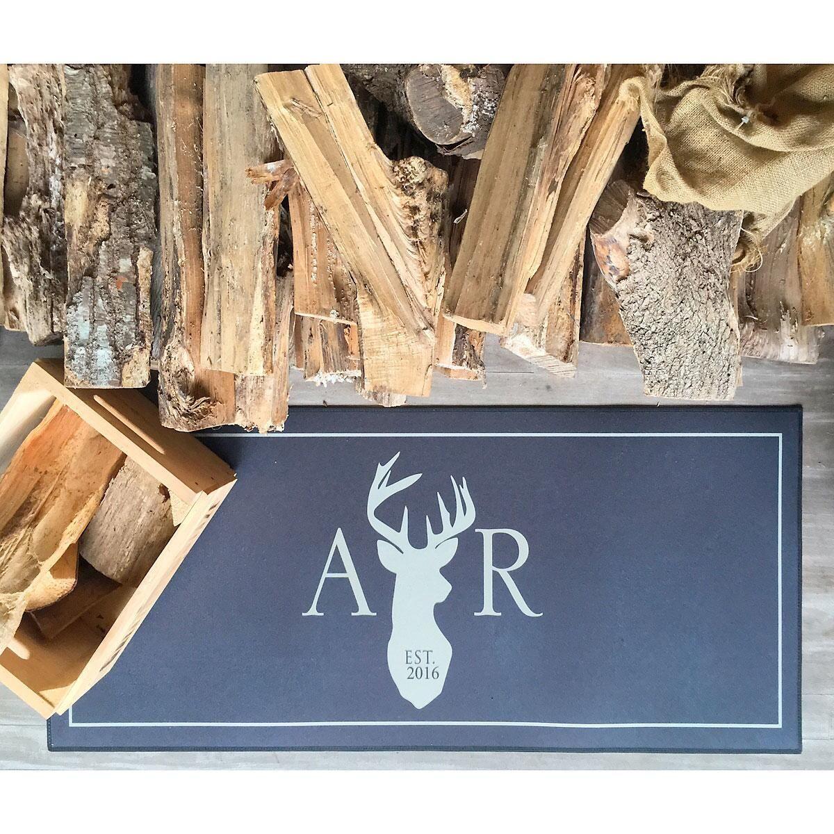 Deer Personalized Doormat