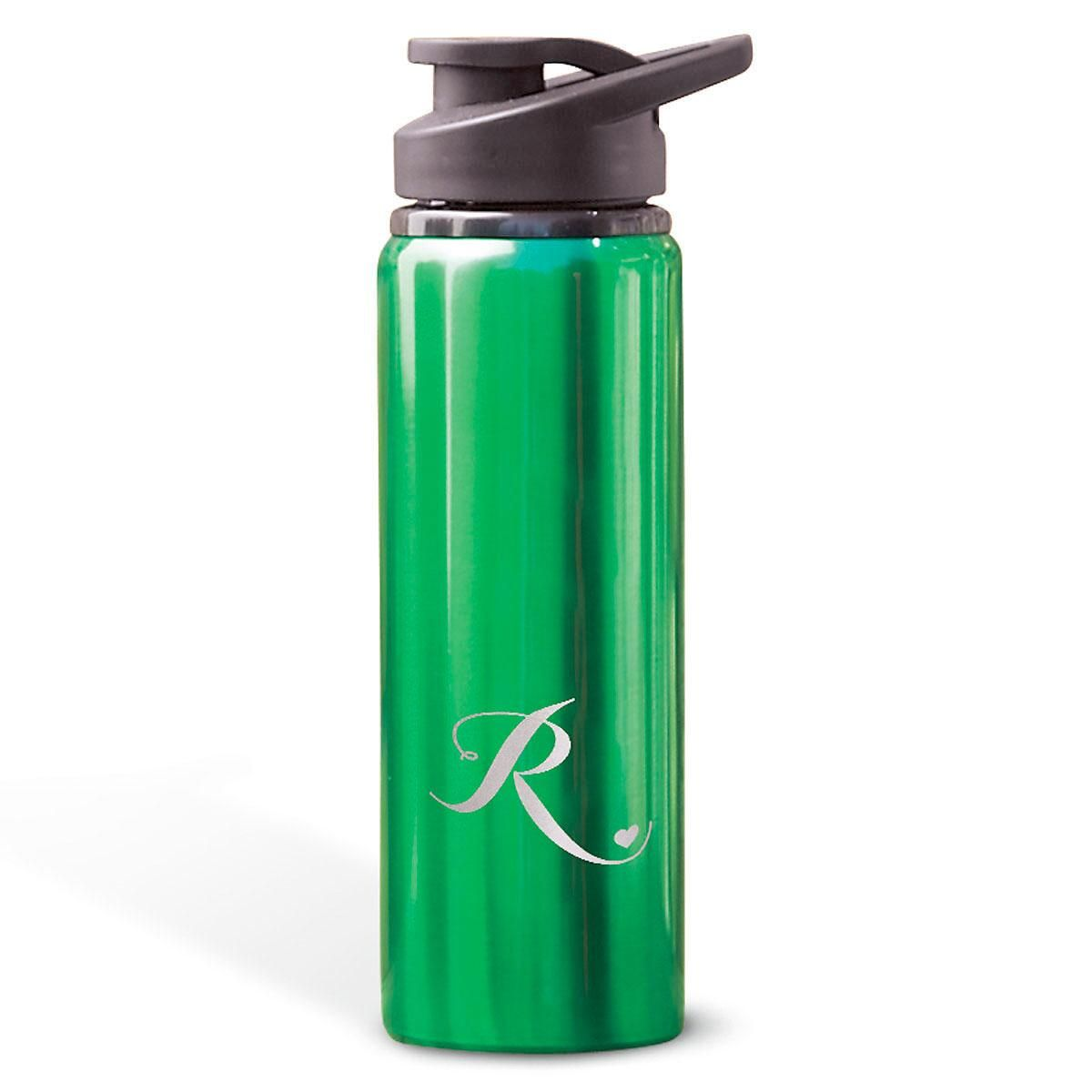 Personalized Aluminum Water Bottles with Heart