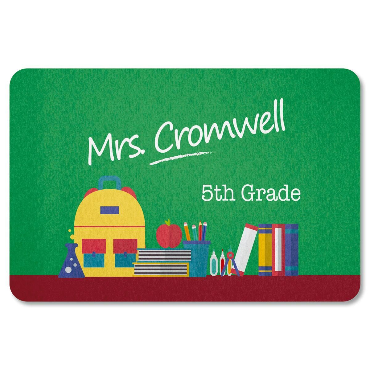 Classroom Personalized Doormat