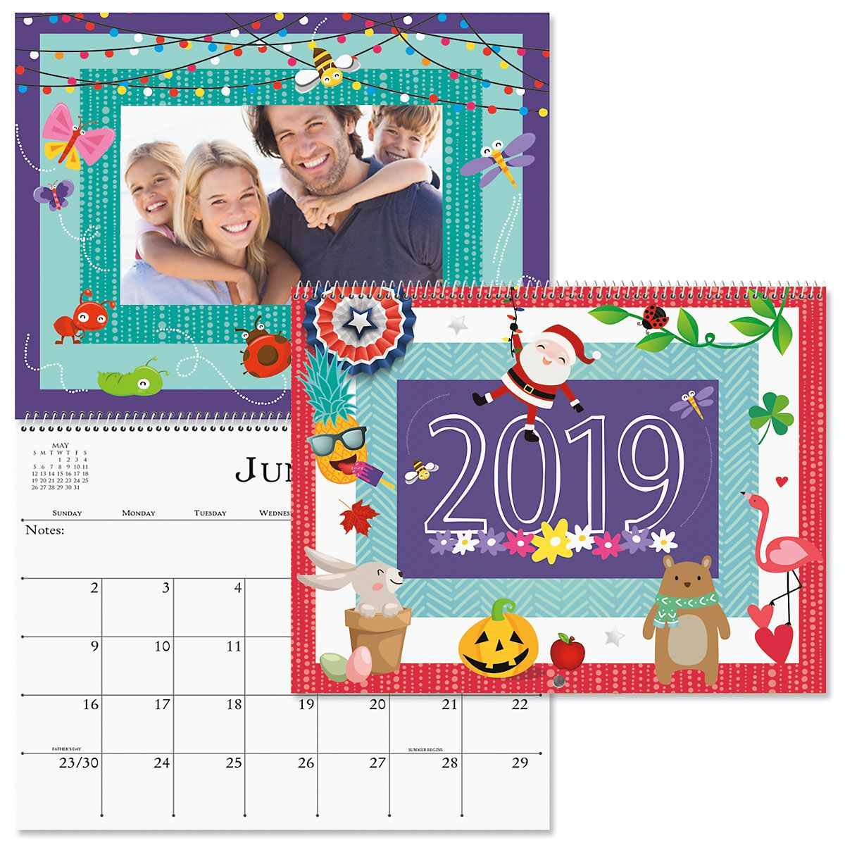 2019 Graphic Photo Calendar