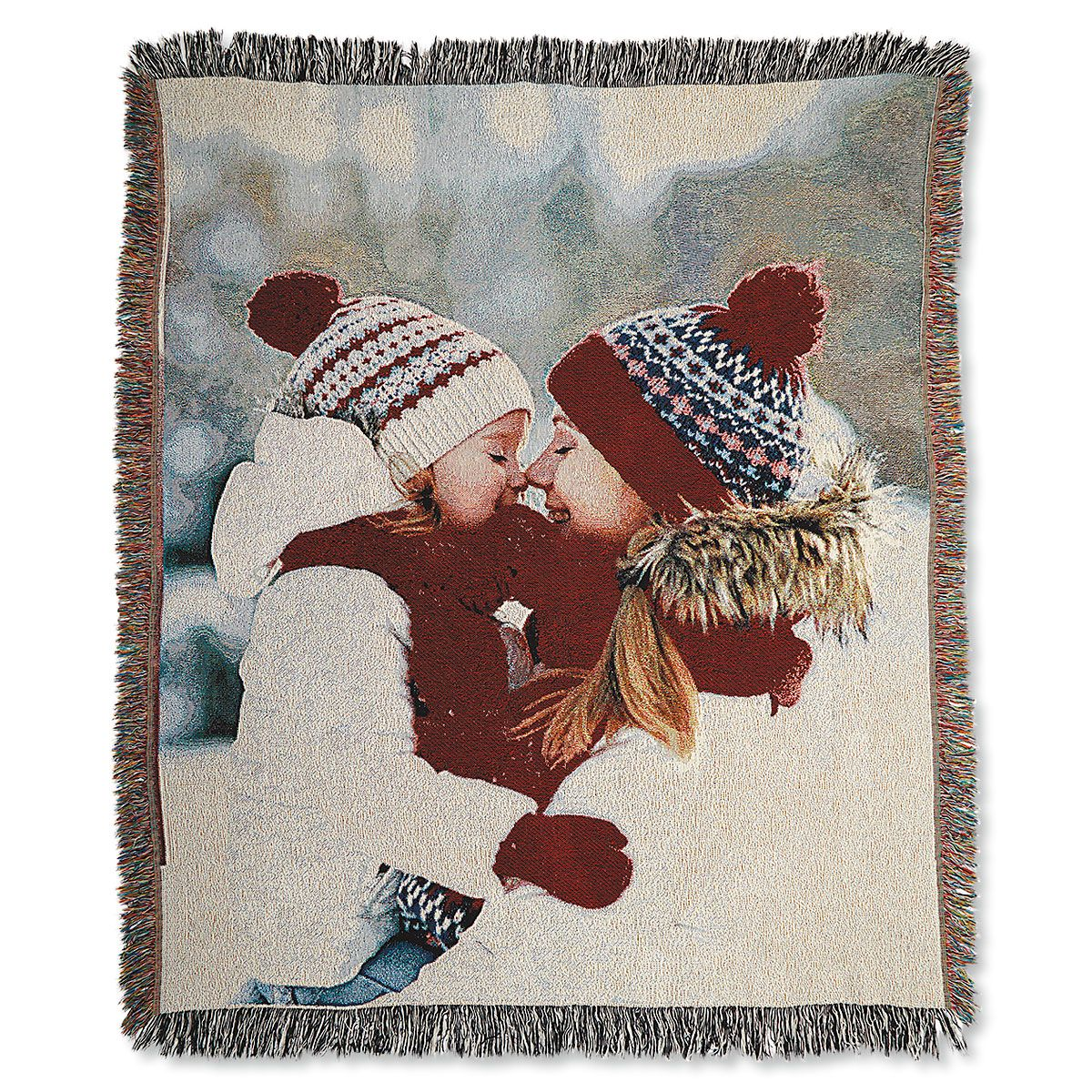 Full Woven Personalized Photo Throw