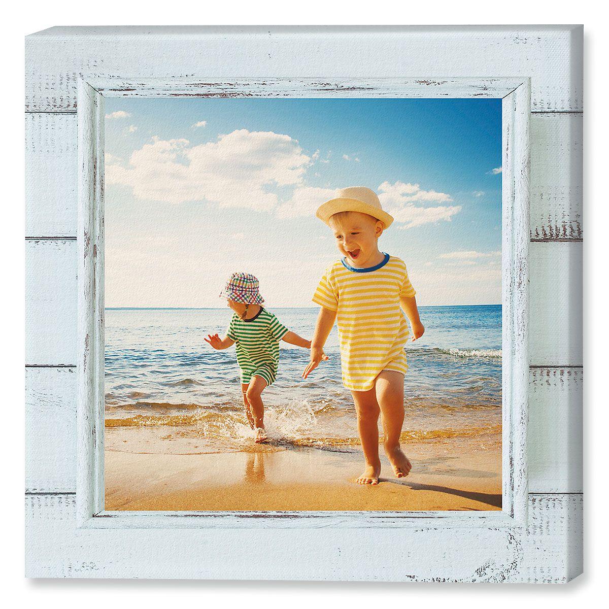 Shiplap Canvas Photo Print