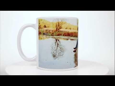 Panoramic Personalized Photo Mug