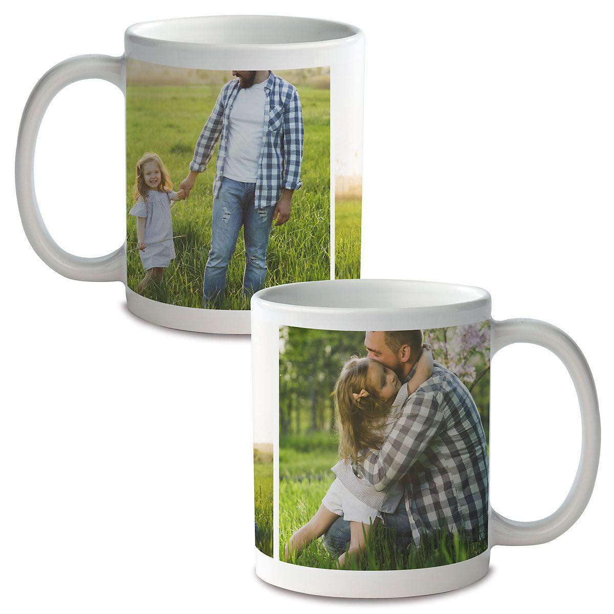 Collage 3 Ceramic Photo Mug