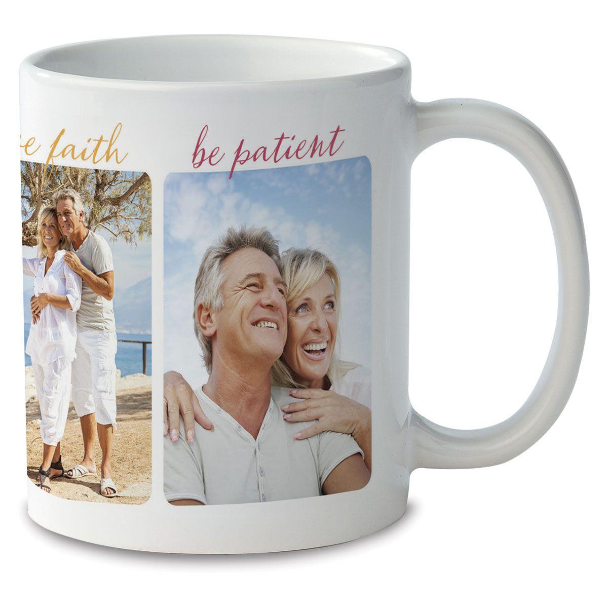 Be Brave Personalized Photo Mug