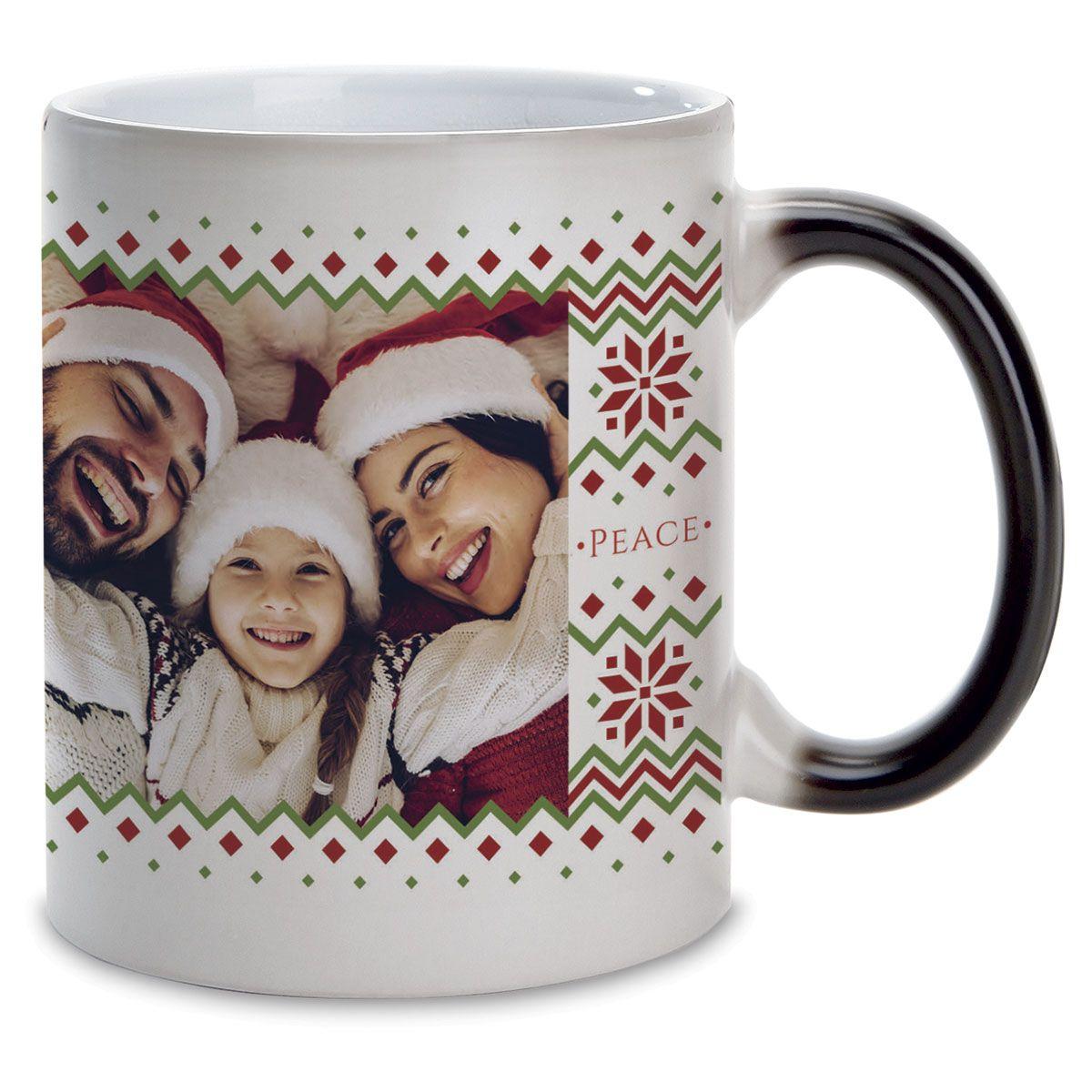 Sweater Personalized Photo Mug