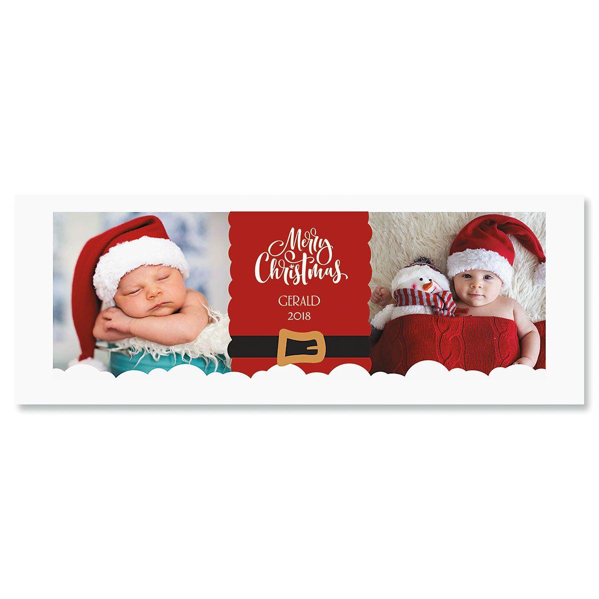 Santa Personalized Photo Mug