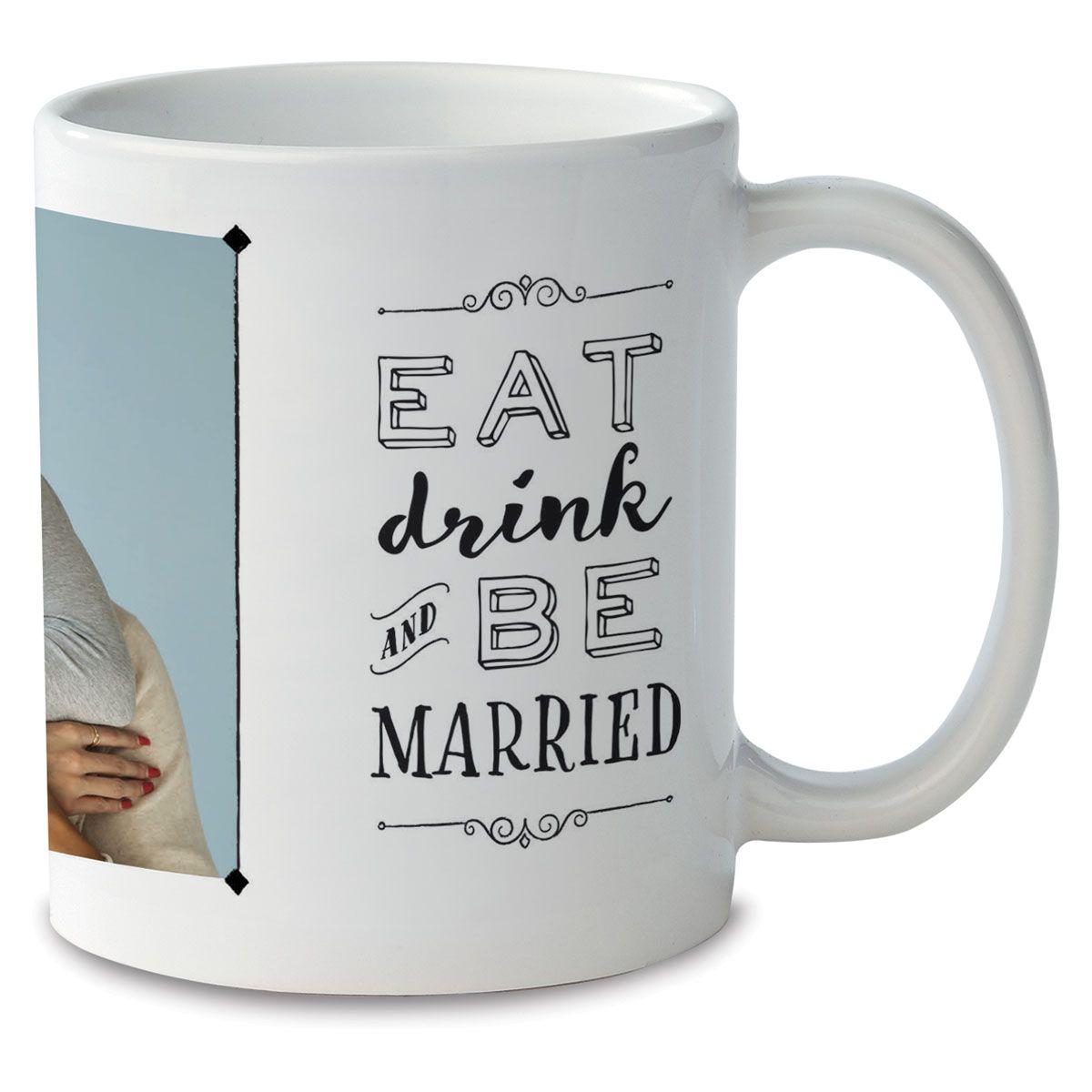 Be Married Personalized Photo Mug