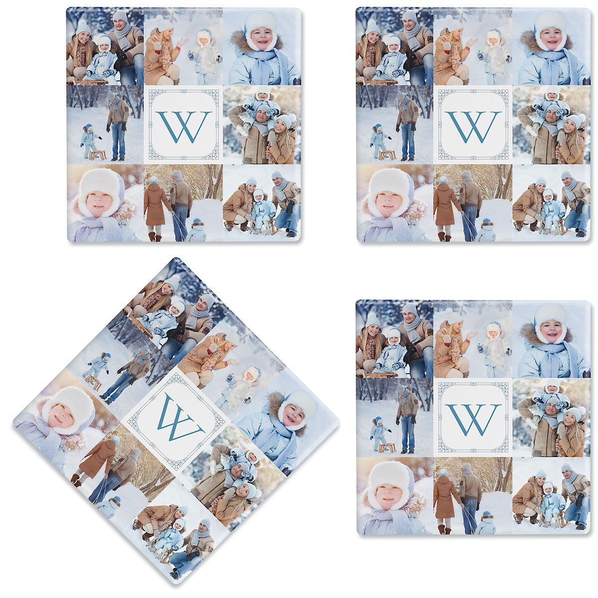 Gallery 8 Personalized Photo Coasters
