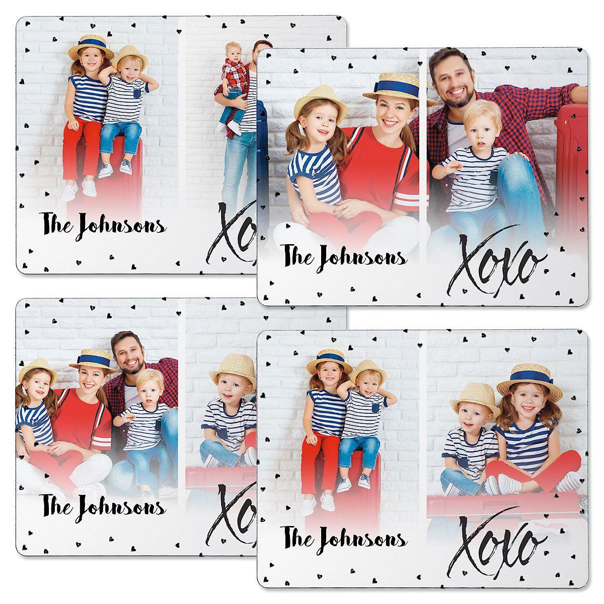 XOXO Photo Magnets