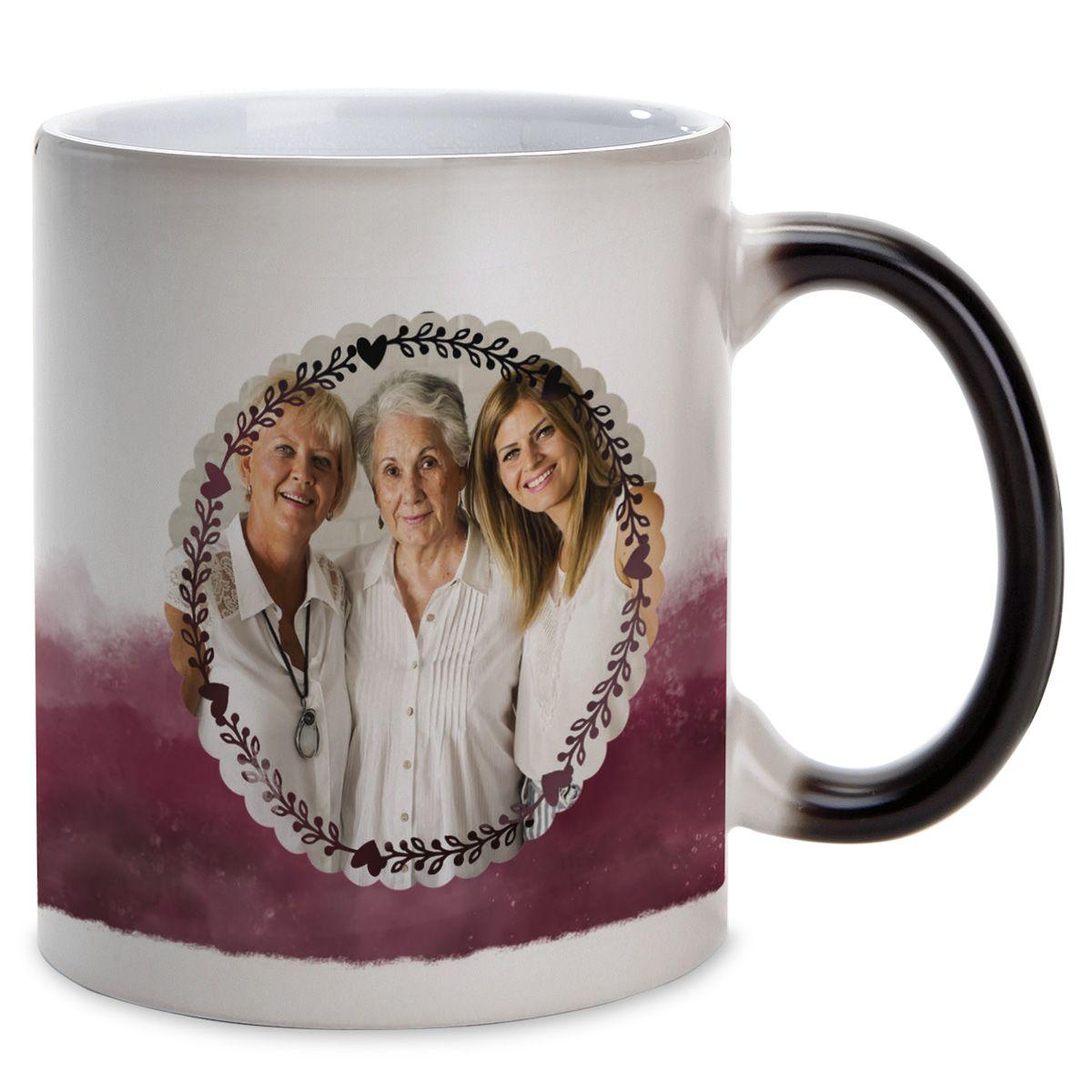 Watercolor Personalized Photo Mug