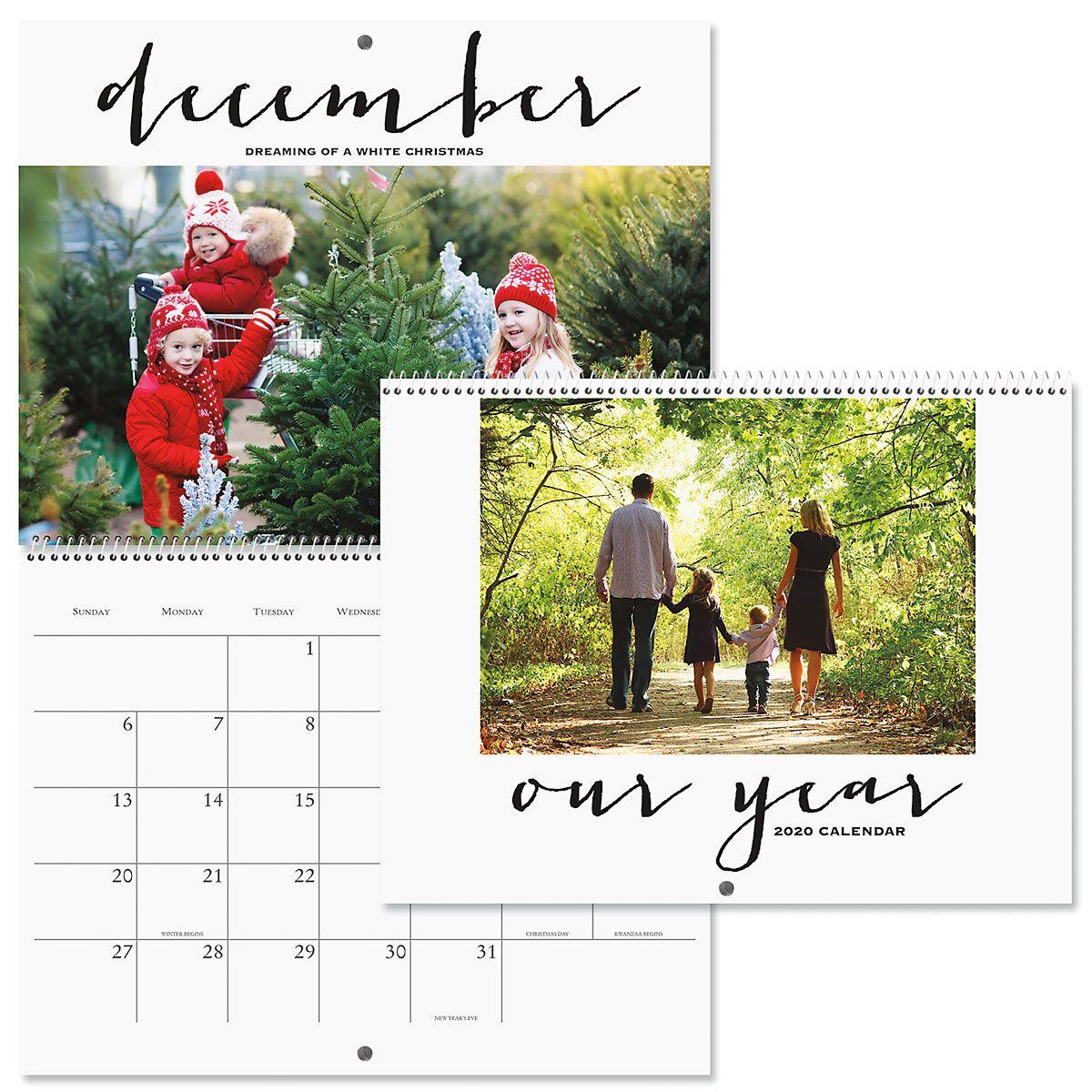 2020 Photo Wall Calendar