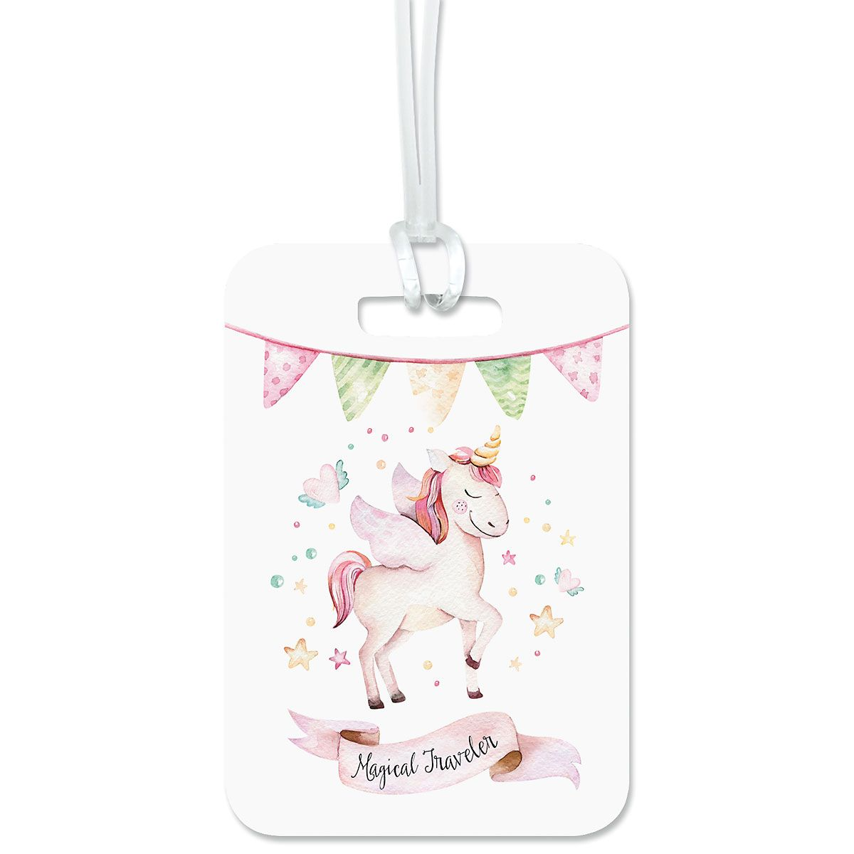Magical Fantasy Personalized Luggage Tag