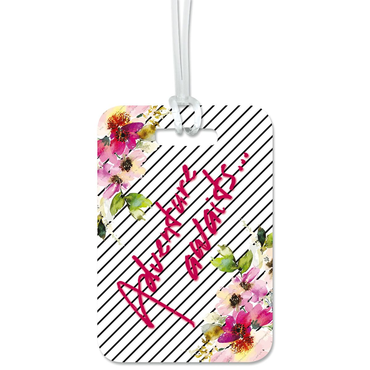 Adventure Awaits Personalized Luggage Tag